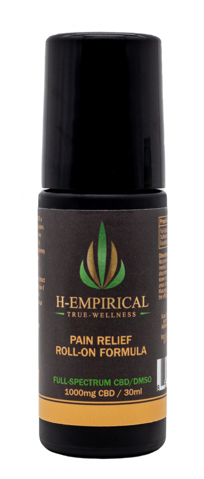 Roll-On - Pain Relief -1000mg - 30ml