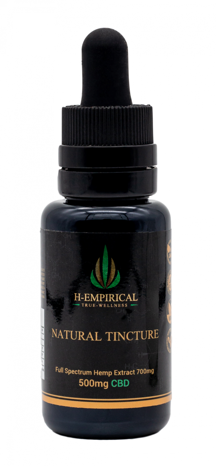 Tincture - Natural - 500mg