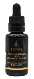 Tincture - Lemon-Lime Tumeric w Cinnamon - 5000mg