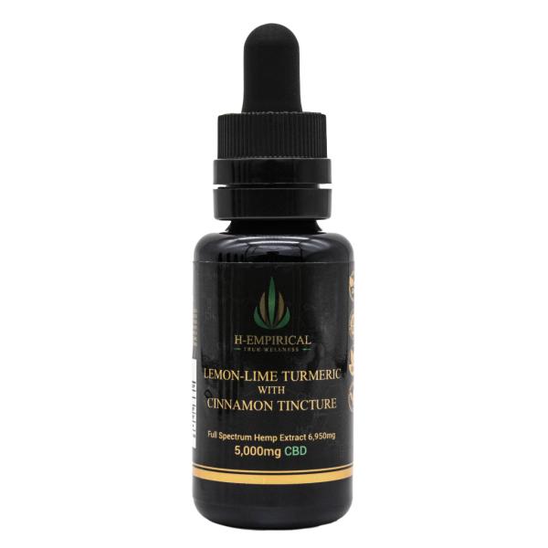Tincture - Lemon-Lime Tumeric w Cinnamon - 5000mg