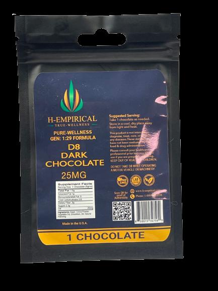 25MG D8 Dark Chocolate